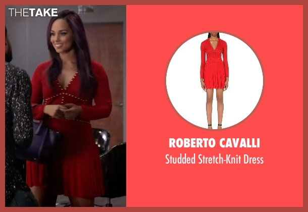 Roberto Cavalli red dress from Empire seen with Skye Summers (Alicia Keys)