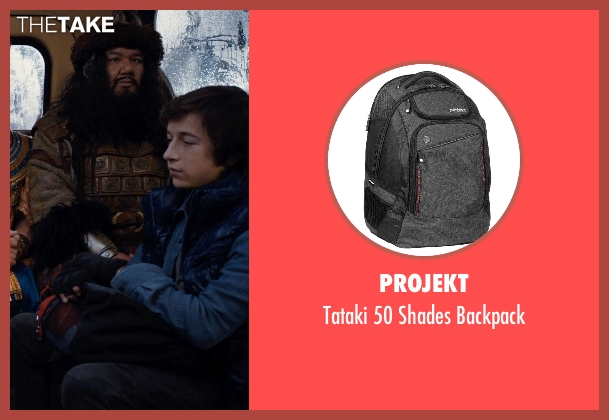 Projekt black backpack from Night at the Museum: Secret of the Tomb seen with Skyler Gisondo (Nick Daley)