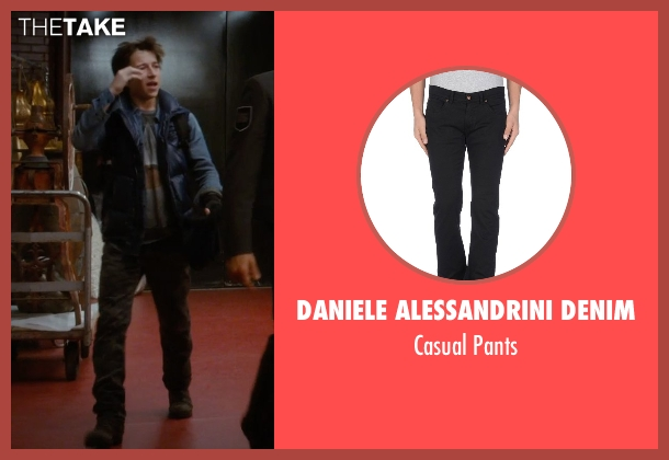 Daniele Alessandrini Denim black pants from Night at the Museum: Secret of the Tomb seen with Skyler Gisondo (Nick Daley)