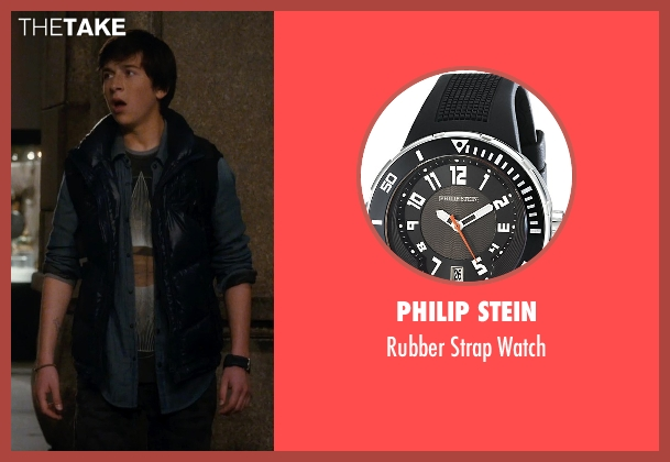 Philip Stein black watch from Night at the Museum: Secret of the Tomb seen with Skyler Gisondo (Nick Daley)