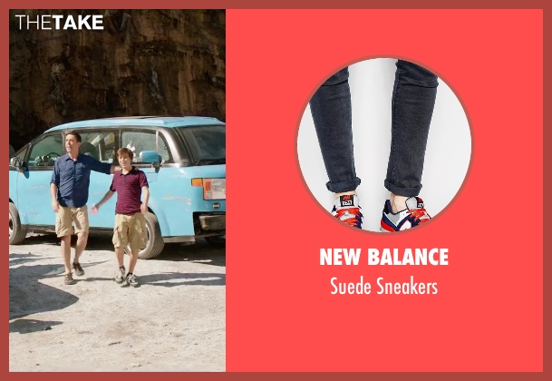 New Balance blue sneakers from Vacation seen with Skyler Gisondo (James Griswold)