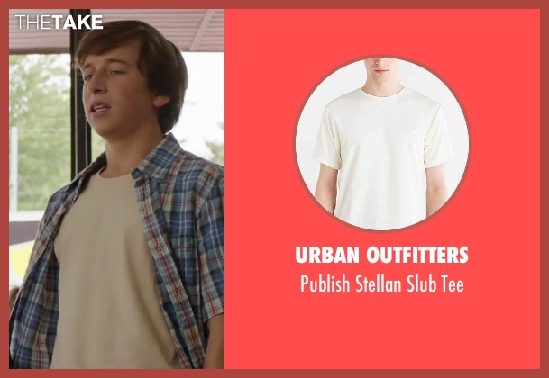 Urban Outfitters slubtee from Vacation seen with Skyler Gisondo (James Griswold)