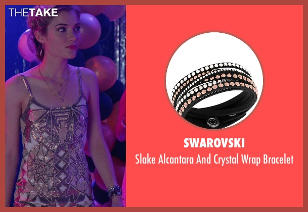Swarovski black bracelet from The DUFF seen with Skyler Samuels (Jess)