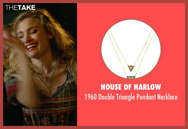 House Of Harlow gold necklace from The DUFF seen with Skyler Samuels (Jess)