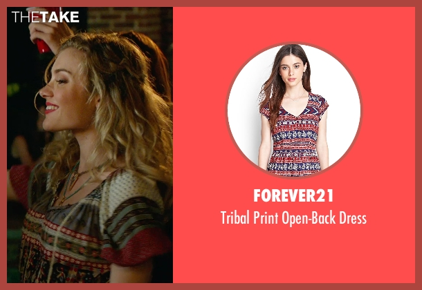 Forever21 red dress from The DUFF seen with Skyler Samuels (Jess)