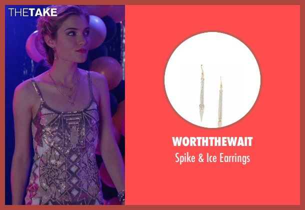 WorthTheWait white earrings from The DUFF seen with Skyler Samuels (Jess)