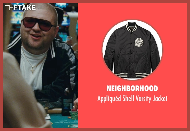 Neighborhood black jacket from The Town seen with Slaine (Albert 'Gloansy' Magloan)