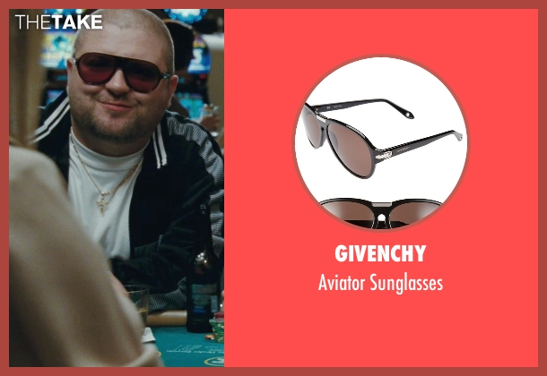 Givenchy black sunglasses from The Town seen with Slaine (Albert 'Gloansy' Magloan)