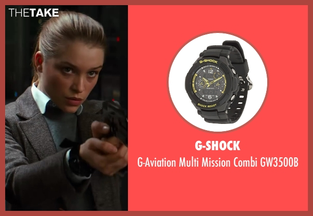 G-Shock black gw3500b from Kingsman: The Secret Service seen with Sophie Cookson (Roxy)