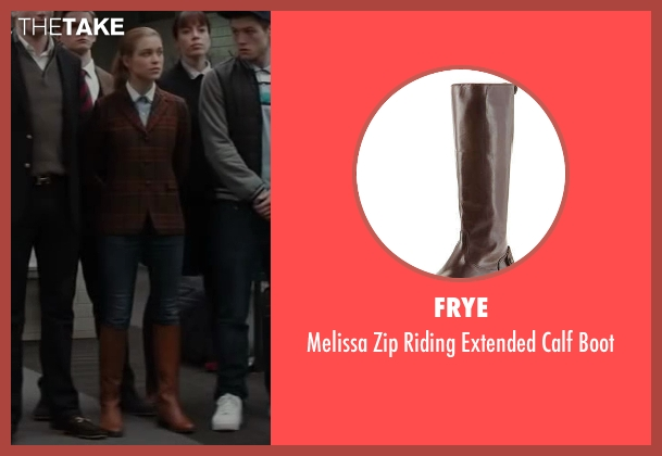 Frye brown boot from Kingsman: The Secret Service seen with Sophie Cookson (Roxy)