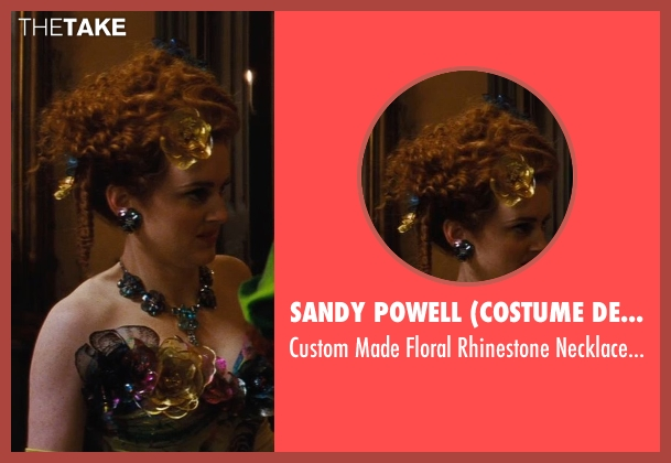 Sandy Powell (Costume Designer) blue necklace from Cinderella seen with Sophie McShera (Drizella)