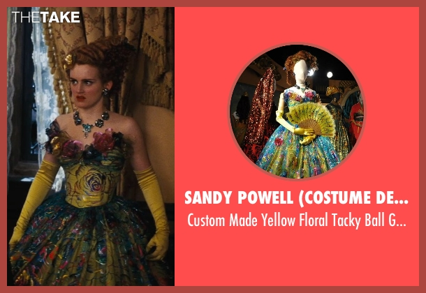 Sandy Powell (Costume Designer) gown from Cinderella seen with Sophie McShera (Drizella)