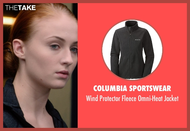 Columbia Sportswear black jacket from Barely Lethal seen with Sophie Turner (Heather)