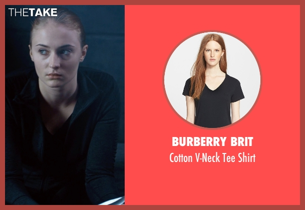 Burberry Brit black shirt from Barely Lethal seen with Sophie Turner (Heather)