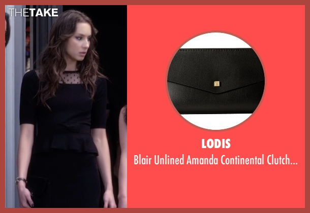 Lodis black bag from Pretty Little Liars seen with Spencer Hastings  (Troian Bellisario)
