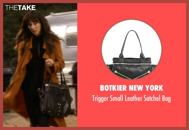 Botkier New York black bag from Pretty Little Liars seen with Spencer Hastings  (Troian Bellisario)