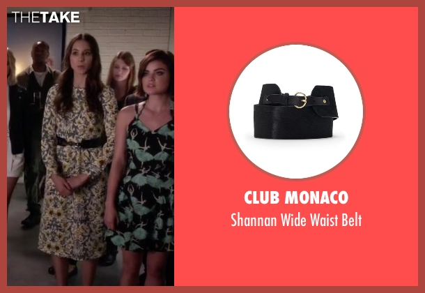 Club Monaco black belt from Pretty Little Liars seen with Spencer Hastings  (Troian Bellisario)