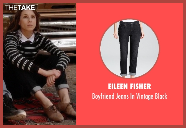Eileen Fisher black black from Pretty Little Liars seen with Spencer Hastings  (Troian Bellisario)