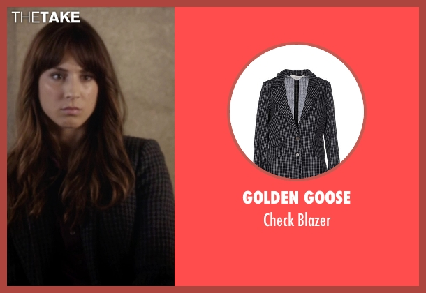 Golden Goose black blazer from Pretty Little Liars seen with Spencer Hastings  (Troian Bellisario)