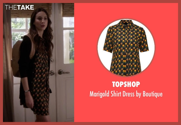 Topshop black boutique from Pretty Little Liars seen with Spencer Hastings  (Troian Bellisario)