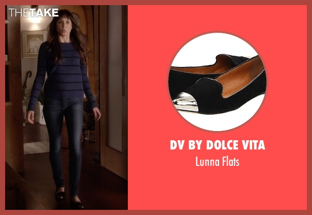 DV By Dolce Vita  black flats from Pretty Little Liars seen with Spencer Hastings  (Troian Bellisario)