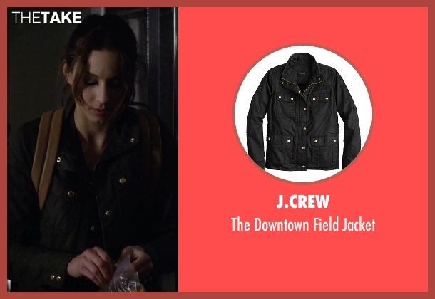 J.Crew black jacket from Pretty Little Liars seen with Spencer Hastings  (Troian Bellisario)