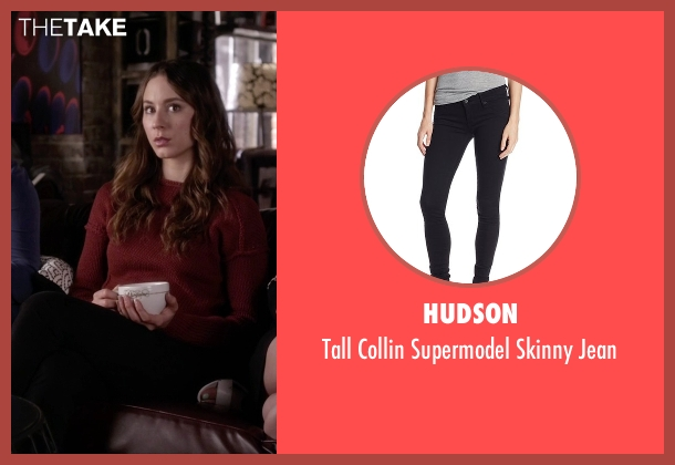 Hudson black jean from Pretty Little Liars seen with Spencer Hastings  (Troian Bellisario)