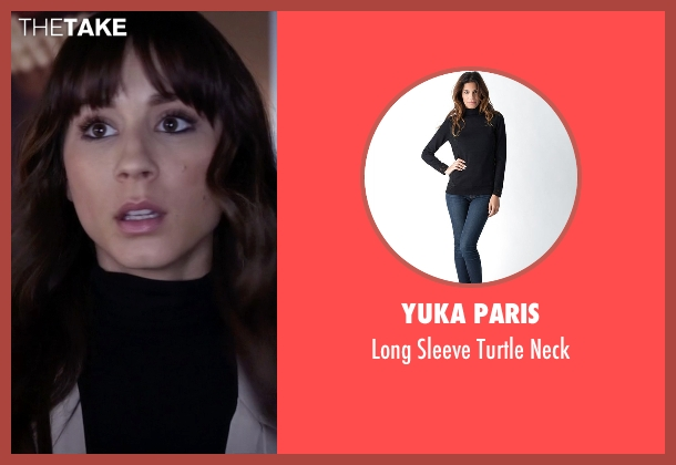 Yuka Paris black neck from Pretty Little Liars seen with Spencer Hastings  (Troian Bellisario)
