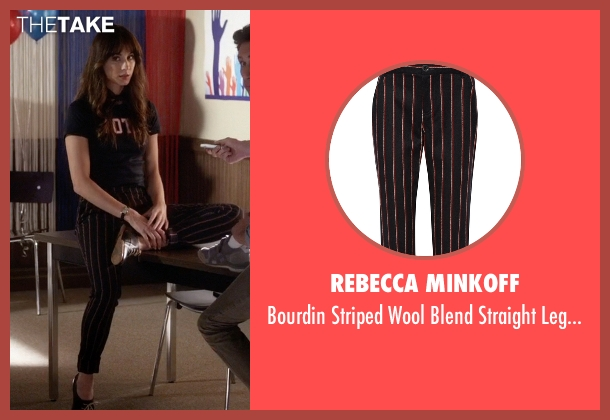 Rebecca Minkoff black pants from Pretty Little Liars seen with Spencer Hastings  (Troian Bellisario)