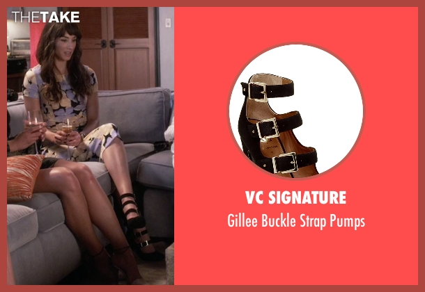 VC Signature black pumps from Pretty Little Liars seen with Spencer Hastings  (Troian Bellisario)