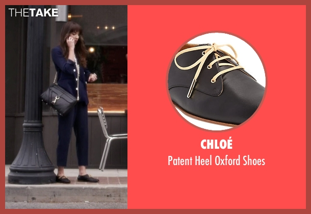 Chloé black shoes from Pretty Little Liars seen with Spencer Hastings  (Troian Bellisario)