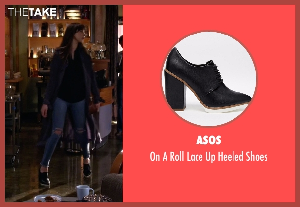 ASOS black shoes from Pretty Little Liars seen with Spencer Hastings  (Troian Bellisario)