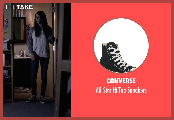 Converse black sneakers from Pretty Little Liars seen with Spencer Hastings  (Troian Bellisario)