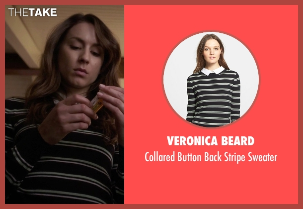 Veronica Beard black sweater from Pretty Little Liars seen with Spencer Hastings  (Troian Bellisario)