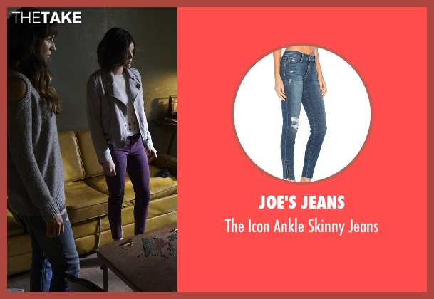 DL1961 blue jeans from Pretty Little Liars seen with Spencer Hastings  (Troian Bellisario)