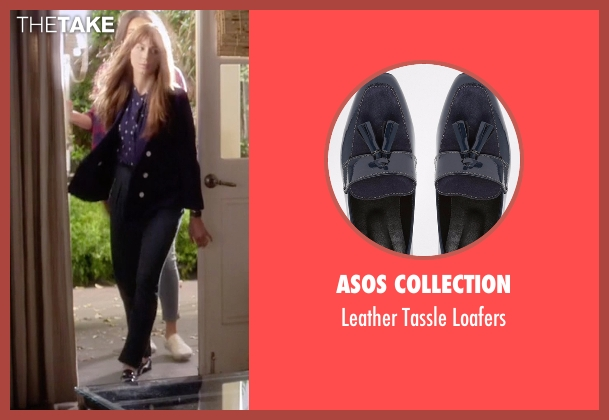 Asos Collection blue loafers from Pretty Little Liars seen with Spencer Hastings  (Troian Bellisario)