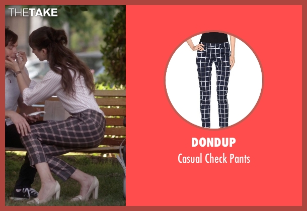 Dondup blue pants from Pretty Little Liars seen with Spencer Hastings  (Troian Bellisario)