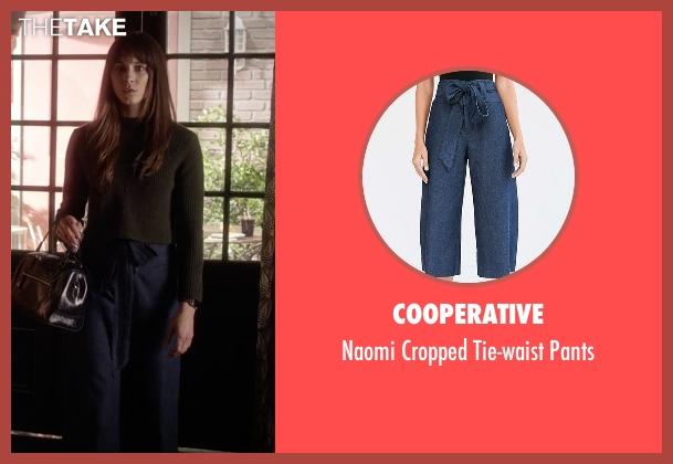 Cooperative blue pants from Pretty Little Liars seen with Spencer Hastings  (Troian Bellisario)