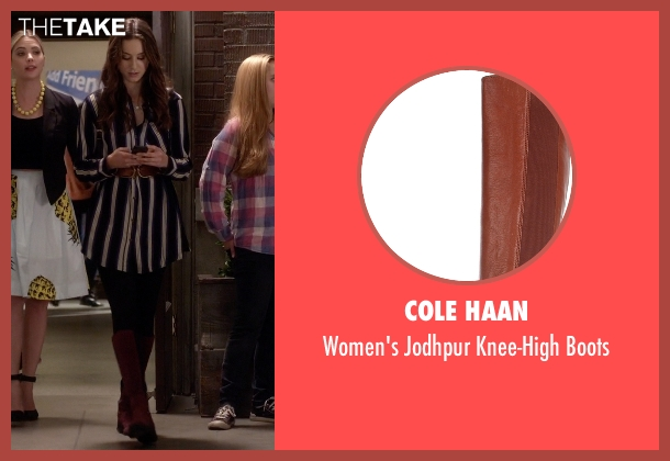 Cole Haan brown boots from Pretty Little Liars seen with Spencer Hastings  (Troian Bellisario)