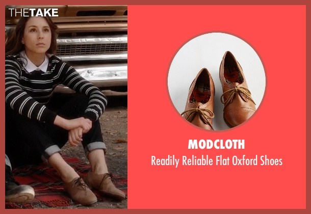 ModCloth brown shoes from Pretty Little Liars seen with Spencer Hastings  (Troian Bellisario)