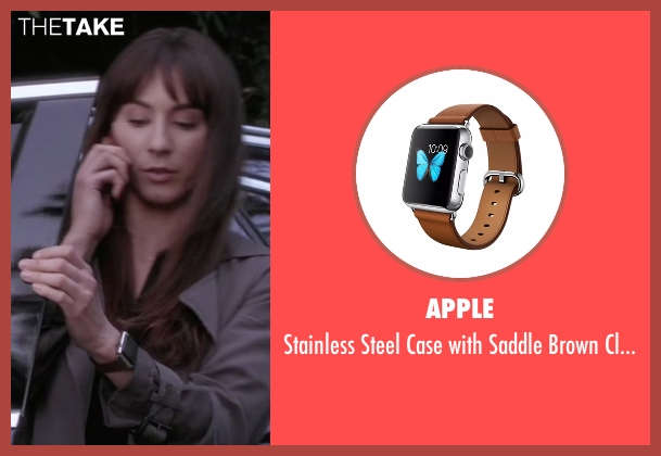 Apple brown watch from Pretty Little Liars seen with Spencer Hastings  (Troian Bellisario)