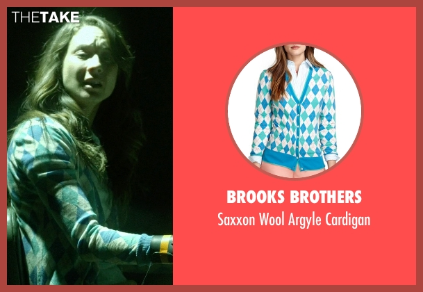 Brooks Brothers cardigan from Pretty Little Liars seen with Spencer Hastings  (Troian Bellisario)
