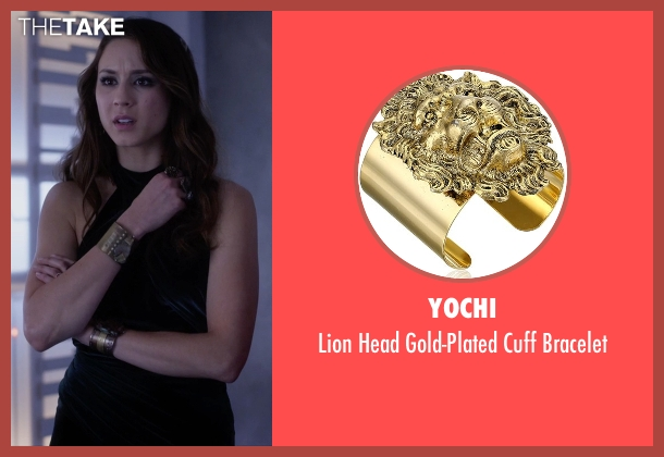 Yochi gold bracelet from Pretty Little Liars seen with Spencer Hastings  (Troian Bellisario)