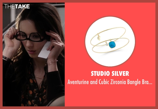 Studio Silver gold bracelets from Pretty Little Liars seen with Spencer Hastings  (Troian Bellisario)