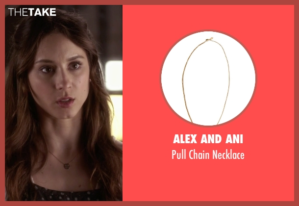 Alex and Ani gold necklace from Pretty Little Liars seen with Spencer Hastings  (Troian Bellisario)