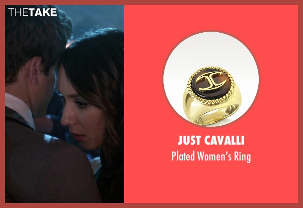 Just Cavalli gold ring from Pretty Little Liars seen with Spencer Hastings  (Troian Bellisario)