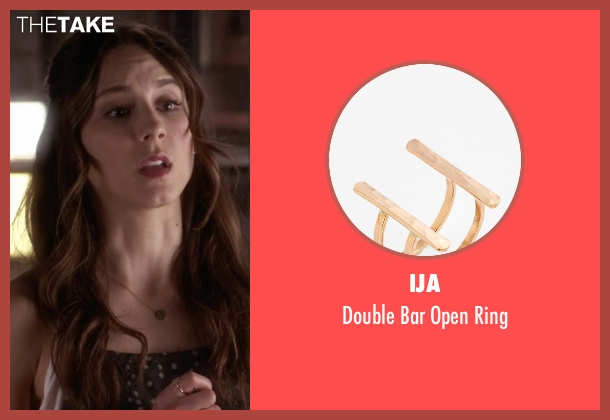 Ija gold ring from Pretty Little Liars seen with Spencer Hastings  (Troian Bellisario)