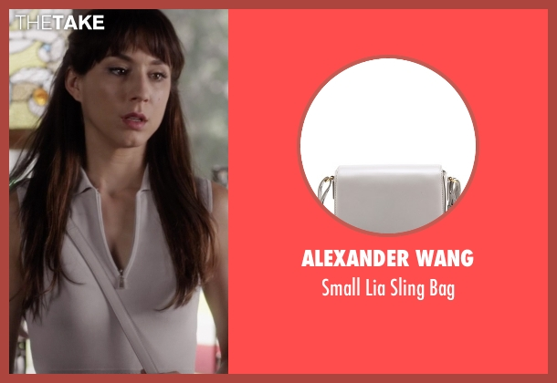 Alexander Wang gray bag from Pretty Little Liars seen with Spencer Hastings  (Troian Bellisario)