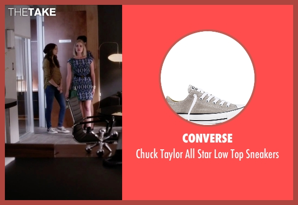 Converse gray sneakers from Pretty Little Liars seen with Spencer Hastings  (Troian Bellisario)