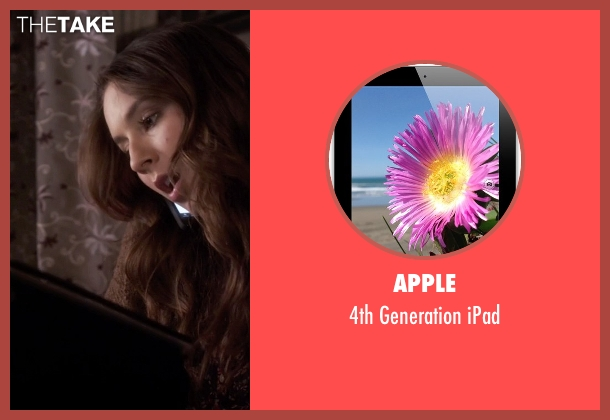 Apple ipad from Pretty Little Liars seen with Spencer Hastings  (Troian Bellisario)